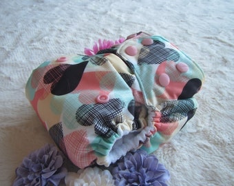 All in One,Cloth Diaper,One Size,All Love,Diaper Cover,Diaper,Washable,Nursery,Baby,Baby Diaper,Bamboo insert,microfiber,PUL,pocket diaper