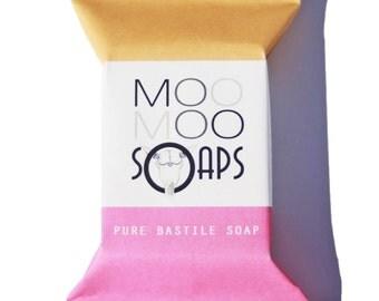 Geranium & Orange Bastile Soap