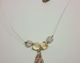 Elegant Rose Gold Necklace