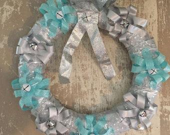 Shimmering Winter Wreath
