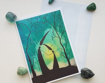 Witches/Pagan Greetings Card