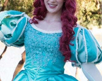 Ariel Little Mermaid Parks Inspired Wig