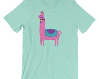 Cute Llama T-shirt- Womens Llama Shirt- Llama Gift- Llama Clothing- Llama Tee- Llama Tshirt- Gift for Llama Lover Shirt- Llama T Shirt