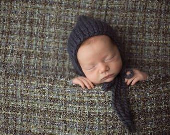 Newborn Hat Boy, Newborn Photo Prop Boy, Newborn Pixie Hat, Newborn Boy Hat Photo Prop, Newborn Props Boy, Knit Newborn Hat Baby Shower Gift
