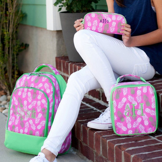 Girl Backpack, Matching Lunchbox available for purchase