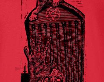 Satanic Kitty Unisex T-shirt