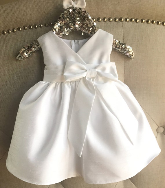 Cinderella Christening Gowns Girls: Baby Girl Christening Dress Baby White Baptism Dress Ivory