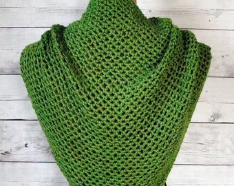 Crochet Pattern - Nettie Summer Shawl - Girl/Women