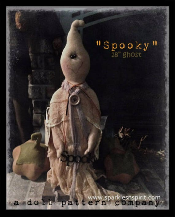 "Doll KIT: Spooky - 18"" Ghost - Full Kit of supplies"