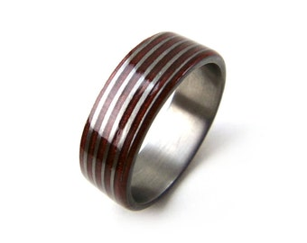 Threaded Ring, Red Copper Ring, Unique Ring, Unique Jewelry, Mens Wedding Band, Womens Band, Womens Wedding, Mens Wedding, Grand Junction