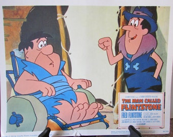 The Man Called Flintstone - Original 11 x 14 Movie Lobby Card