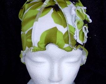 Woman slouchy hat, cancer beanie, chemo head cover, alopecia, handamde
