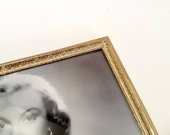 8x10 Gold Picture Frame, 8x10 Photo Frame, Vintage Picture Frames