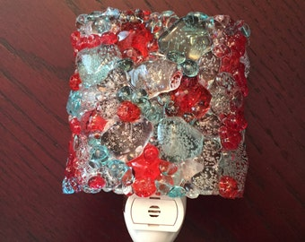Fire & Ice Night Light