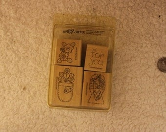 For You Stampin' Up 1997 (Set of 4)