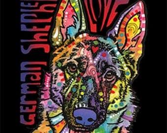 German Shepherd Luv Dog T Shirt WOMENS LONG SLEEVE 21335HD2 Only 1 Left