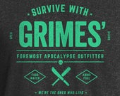 Walking Dead Shirt, Walker Shirt, Walking Dead, Walkers, TWD Shirt, TWD, The Walking Dead, Grimes Outfitter Shirt, Rick Grimes Shirt, Grimes