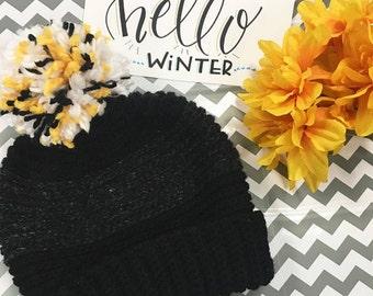 Eli Wool Hat - Crochet