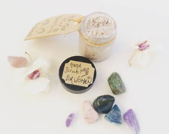 Hand Scrub for Women - Skin Care - Natural Hand Scrub - Gifts for Her - Pumice Scrub - Artisan Aromatherapy