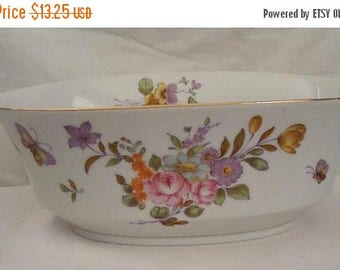 Store Wide Sale Floral Hand Painted Porcelain Bowl