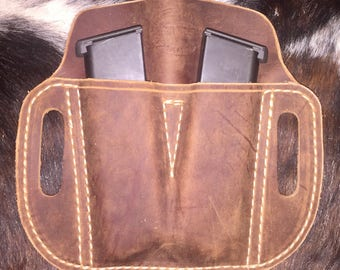 Double mag pouch for 1911 - .45
