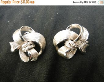 Summer Sale Vintage Coro Signed Costume Clip On  Earrings