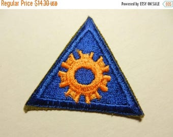 Easter Sale Vintage WW2 US Army Air Corps Mechanic Tec Patch