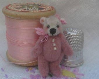 Powder Puff a miniature bear by Sally
