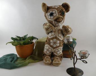 Hand made crochet Gremlin