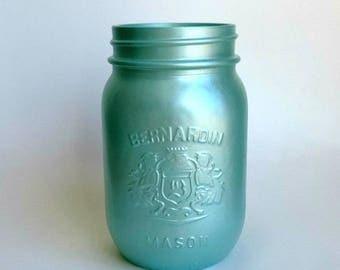 Mason Jar Decor, Mason Jar Bulk, Mason Jar Wedding, Mason Jar Centerpieces, Painted Mason Jars, Blue Mason Jar, Wedding Jars, Party Decor