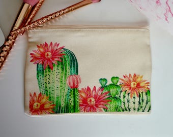 Cactus Small Make-Up Bag