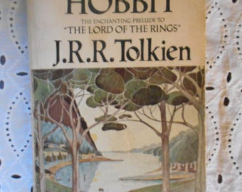The Hobbit by  J.R.R. Tolkien paperback 1976. Vintage Book.