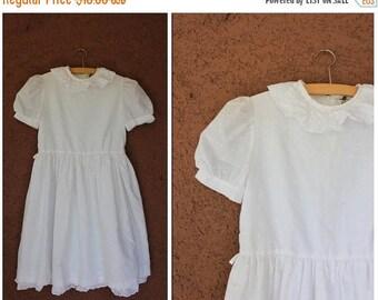 Summer Sale Vintage Palomino Ceremony White Dress - Size 146cm or Xxs