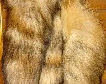 Wild Red Fox Tails, Ready to Wear!