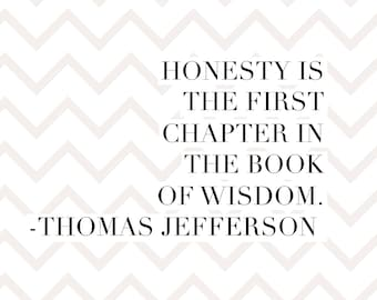 Quote magnet- Thomas Jefferson