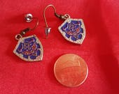 Zelda charm earrings Hylian Shield. Gift for game lovers. Ocarina of Time jewelry