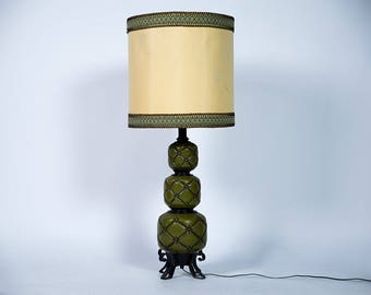 Hollywood Regency Pineapple Lamp