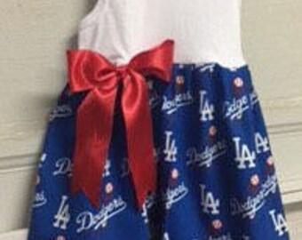 Dodgers Tank Top Dress