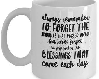Irish Blessing, Always Remember, Coffee Mug, Ceramic, BFF Gift
