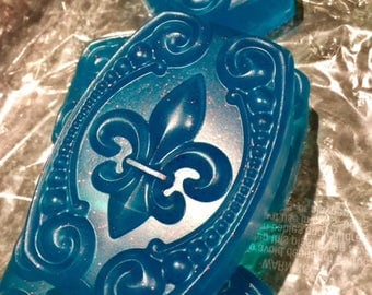 Columbia Blue Apple Soap - Vegan Glycerin, Handmade, Aloe, Bath and Body, Love Potion Magickal Perfumerie