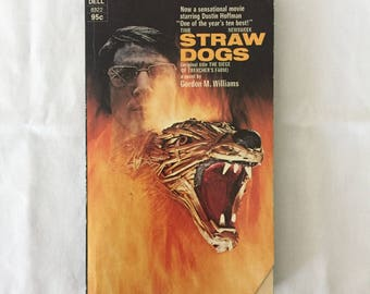 STRAW DOGS (Paperback Movie Tie-In by Gordon M. Williams)