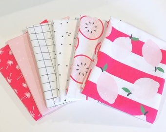 SALE!! Fat Quarter Bundle Just Add Sugar by Simple Simon and Co. For Riley Blake Designs- 6 Fabrics
