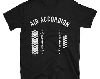 Diatonic Air Accordion Short-Sleeve Unisex T-Shirt
