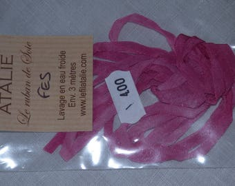 Fez colour Atalie 4mm Silk Ribbon
