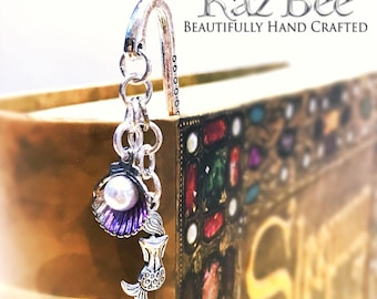 Purple Mermaid Bookmark
