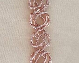 """Rose Gold Bracelet 7"""""""