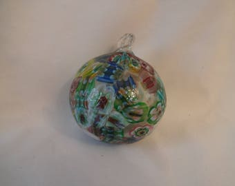 Christmas Ornament Vintage Murano Glass From Italy