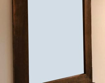 Reclaimed Barn Wood Mirror 24W x 30H