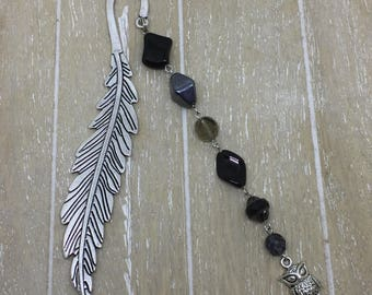 Bookmark black owl
