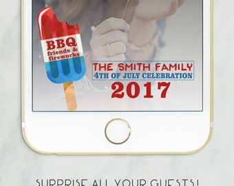 4th of july snapchat geofilter, BBQ 4th of July Geofilter, Snapchat Geofilter, Fourth of July Filter Decor, Indepedence Day Geofilter